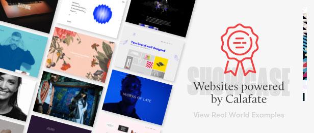 Calafate - Portfolio & WooCommerce Creative WordPress Theme - 4