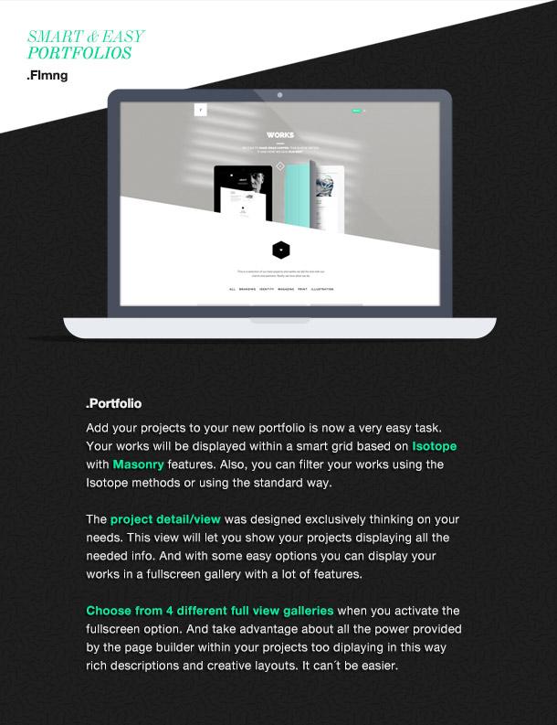 Flamingo - Agency & Freelance Portfolio Theme for WordPress - 5